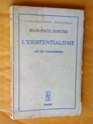 L'existentialisme est un humanisme: Sartre, Jean-Paul
