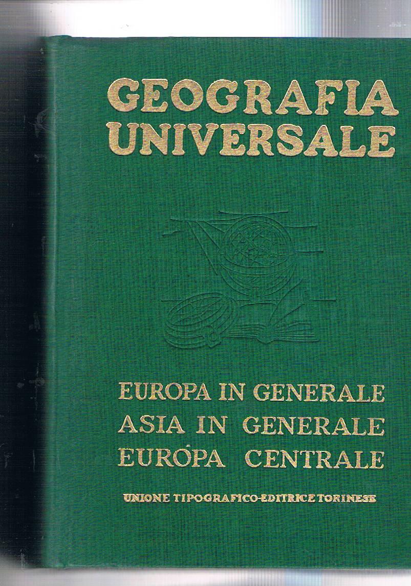 Geografia Europa Rilegato Abebooks
