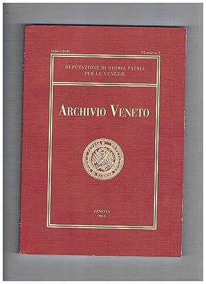 Archivio Veneto anno CXLII VI serie n°: Depurazione di storia