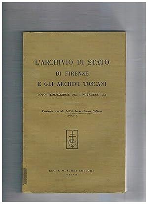 L'Archivio di Stato di Firenze e gli: AA. VV.