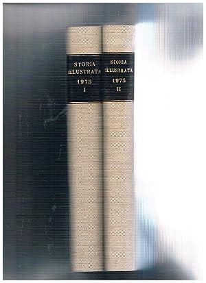 Storia illustrata. Periodico mensile annata completa 1975.: CASTELLANETA Carlo direttore.