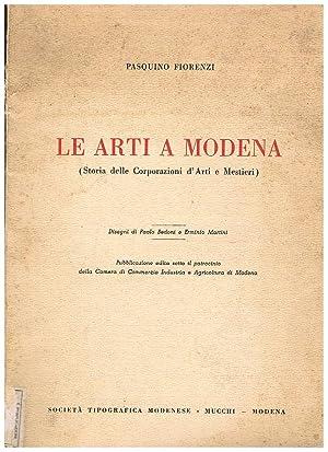 Le arti a Modena (storia delle Corporazioni: FIORENZI Pasquino.