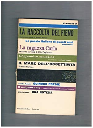 Il menabò n° 2, contiene: La raccolta: VITTORINI Elio e