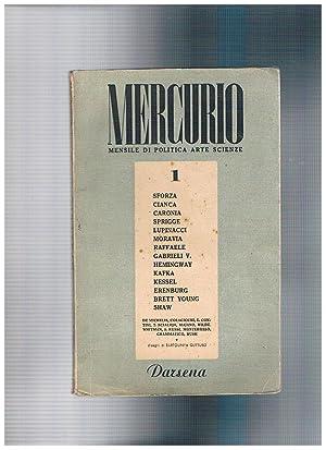 Mercurio, mensile di politica, arte, scienze. Diponiamo: DE CESPEDES Alba