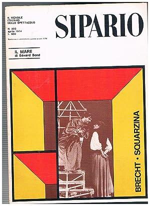 Sipario. Il mensile italiano dello spettacolo. Annata: DE SANTIS Giacomo.