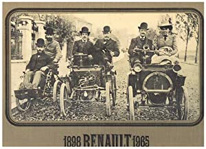 1898 Renault 1965.: YVES Richard.