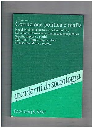 Quaderni di sociologia vol. 37 n° 5: GALLINO Luciano direttore.