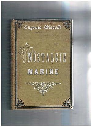 Nostalgie marine (libro dato in premio agli: CECCHI Eugenio.