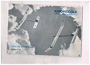 Tutto per il modellismo. Catalogo n° 37.: Aereopiccola.