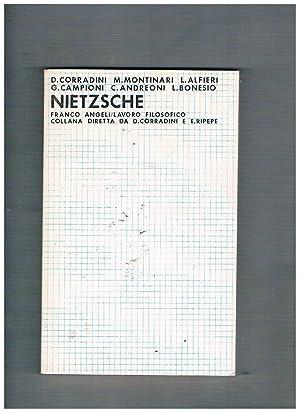 Nietsche. Scritti di D. Corradini, M. Montinari,: AA. VV.