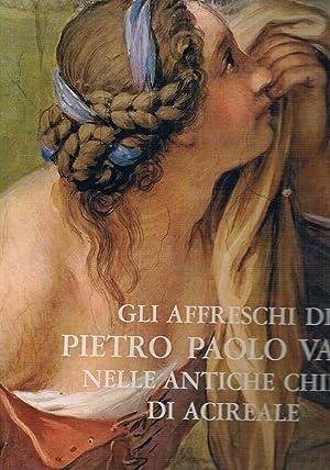 Gli affreschi di Pietro Paolo Vasta nelle: BLANCO Mario a