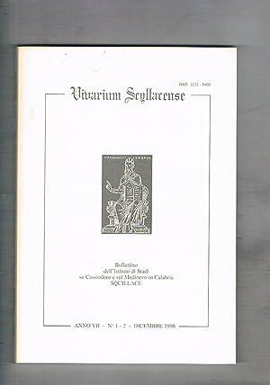 Vivarium Scyllacense. Bollettino semestrale dell'istituto di Studi: AA. VV.
