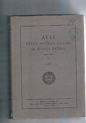 Il debito pubblico genovese. Inventario delle compere: GIOFFRE' Domenico.