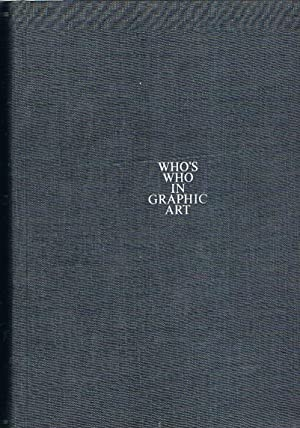 Who's who in graphic art. An illustrated: AMSTUTZ Walter.