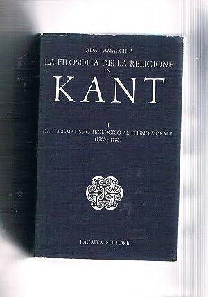 La filosofia della religione in Kant. Dal: LAMACCHIA Ada.