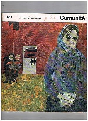 Comunità, rivista mensile di informazione culturale. n°: OLIVETTI Adriano fondatore.