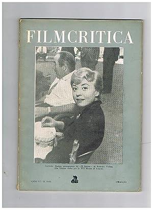 Filcritica, mensile della federazione italiana dei circoli: BRUNO Edoardo direttore.