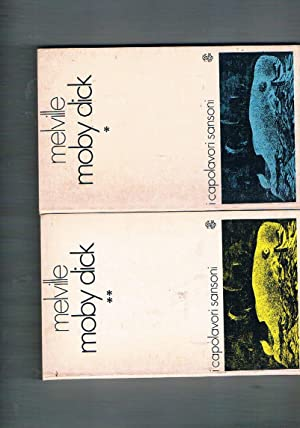 Moby Dick o la balena. Introduzione, traduzione: MELVILLE Herman.