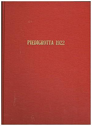 Piedigrotta 1922, anno XV del 31 agosto: BOVIO Libero, dir.