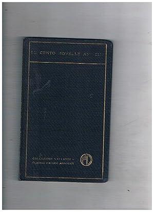 Le cento novelle antiche con premessa e