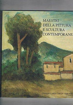 Maestri della pittura e scultura contemporanea. Catalogo