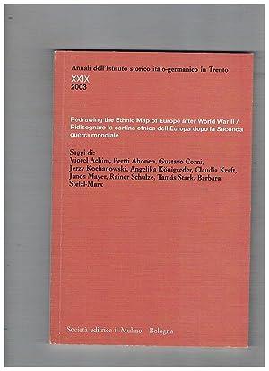 Annali dell'Istituto storico italo-germanico in Trento/Jahrbuch des: AA. VV.