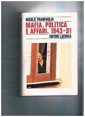 Mafia, politica e affari nell'Italia repubblicana.: TRANFAGLIA Nicola.