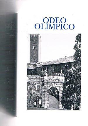 Odeo Olimpico memorie dell'accademia olimpica Vicenza vol.: GALLA Cesare, dir.
