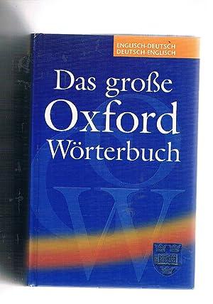 935a5797ba Das Grosse Worterbuch Oxford English - Deutsch