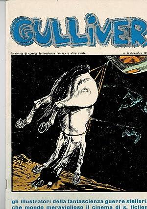 Gulliver, la rivista di comics fantascienza fantasy