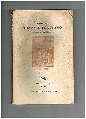 Rivista del cinema italiano anno III° n°: CHIARINI Luigi, dir.