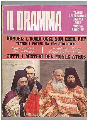 Il dramma, mensile di teatro, letteratura, cinema,: LIVERANI Maurizio direttore.