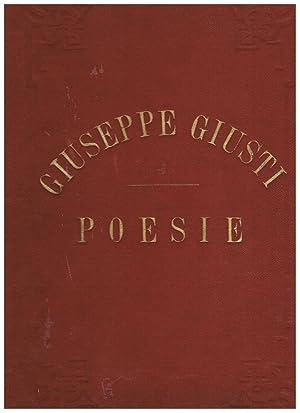 Poesie, illustrate da Adolfo Matarelli, commentate da: GIUSTI Giuseppe.
