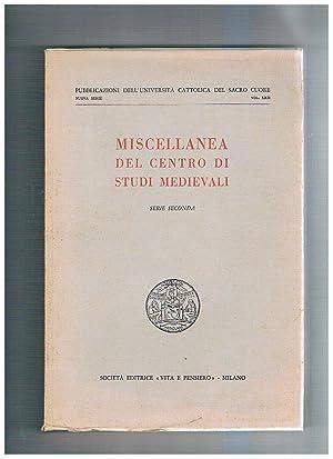 Miscellanea del centro di studi medievali. Serie: AA. VV.
