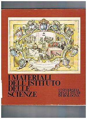 I materiali dell'istituto delle scienze. Catalogo della