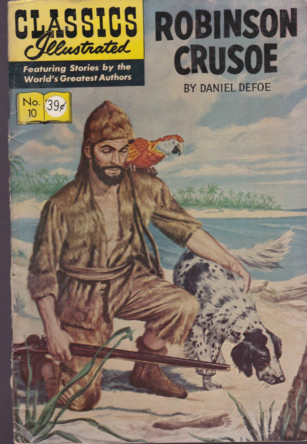 author robinson crusoe