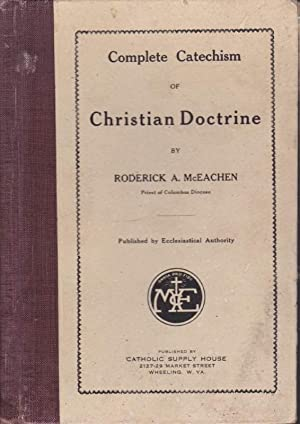 Complete Catechism of Christian Doctrine