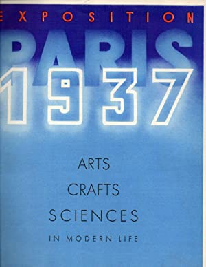 Paris Exposition 1937: Arts, Crafts, Sciences in Modern Life No. 11, March 1937