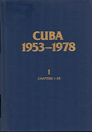 Cuba 1953-1978: a Bibliographical Guide to the Literature