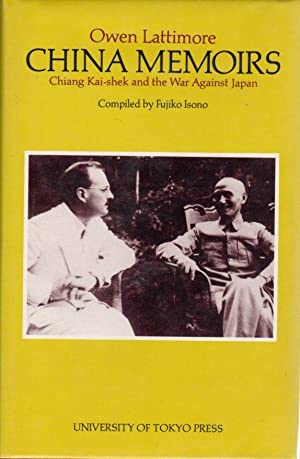China Memoirs: Chiang Kai-shek and the War Against Japan