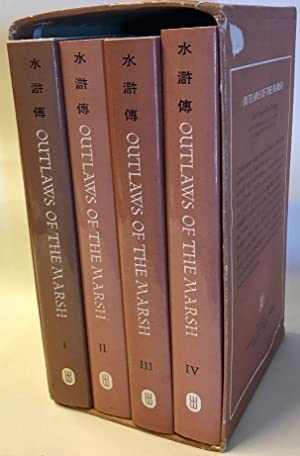 Outlaws of the Marsh [Four-Volume Boxed Set] Chinese Classics