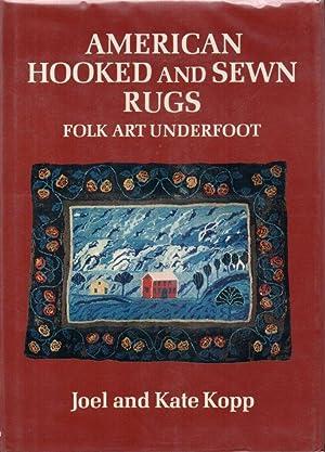American Hooked and Sewn Rugs: Folk Art: Kopp, Joel and