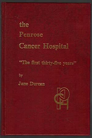 "The Penrose Cancer Hospital: ""The First Thirty-Five: Durcan, Jane"