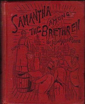 "Samantha Among The Brethren: Holley, Marietta (""Josiah"
