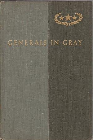 Generals in Gray: Lives of the Confederate: Warner, Ezra J.