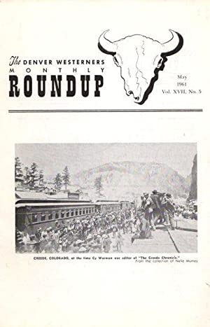 The Denver Westerners' Monthly Roundup: May 1961,: Mumey, Nolie