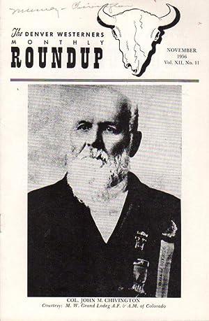 The Denver Westerners' Monthly Roundup: November 1956,: Mumey, Nolie