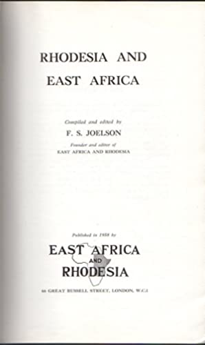 Rhodesia and East Africa