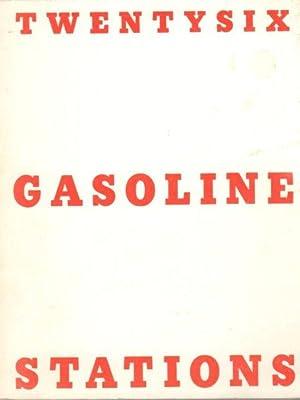 TwentySix Gasoline Stations: Ruscha, Edward (Photographer)