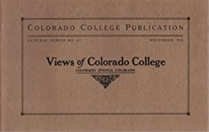 Views of Colorado College: November 1912, Number 65